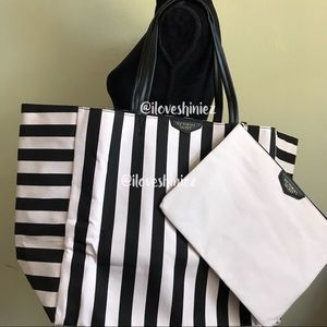 •Victoria's Secret• Tote Bag And Clutch